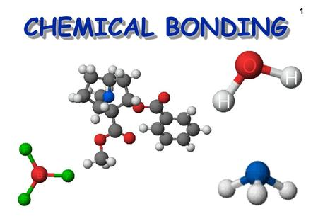 1 CHEMICAL BONDING. 2 Types of Bonds Ionic—transfer of 1 or more electrons from one atom to another (one loses, the other gains) forming oppositely charged.