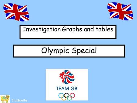 Investigation Graphs and tables