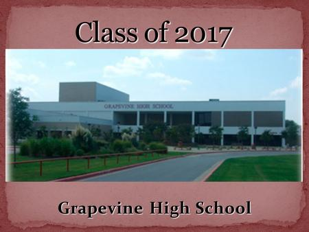 Grapevine High School. A - C Cathy Lamb D – Hn KellyWallace Ho-Mc Gail Madden Md-Sa Nan Poe Sb-Z Sonya Barron.