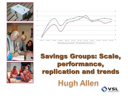 Savings Groups: Scale, performance, replication and trends.