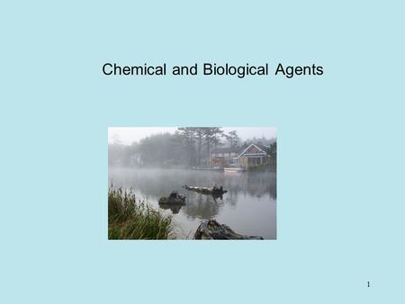 1 Chemical and Biological Agents. 2 Introduction  Most occupational diseases such as asbestosis, silicosis, various types of dermatitis, spills, and.