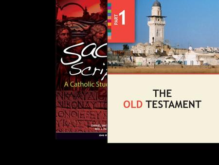 Sacred Scripture: A Catholic Study of God's Word  Why Do We Read the Old Testament?  Classifying and Arranging the Old Testament Books  Why Do We Read.
