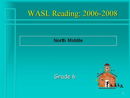 1 WASL Reading: 2006-2008 Grade 6. 2 WASL Reading: Where are we now? Questions to answer: How are we doing? How are we doing? Compared to district & state?