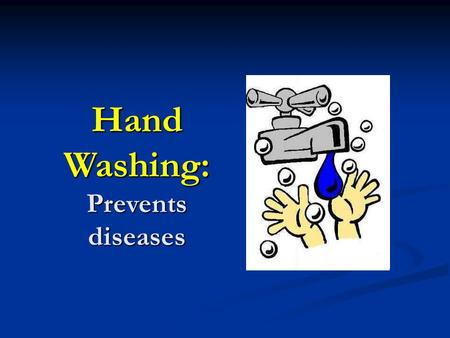 importance of cleanliness for preventing diseases Tips and reasons why it is important to practice good personal hygiene  importance of maintaining  for pursuing personal hygiene oral cleanliness:.