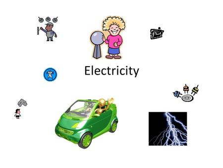 Electricity. What is Electricity? Electricity is everywhere: Houses Cars Batteries Clouds.