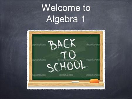 Welcome to Algebra 1. Project Connect Themes: Similarities and differences Change and adaptation Ethics GL goes green, ethics, aesthetics, school pride.
