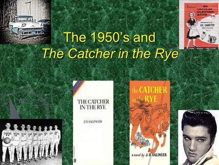 catcher in the rye characters
