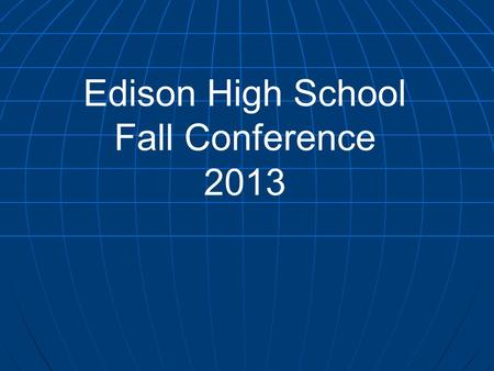 Edison High School Fall Conference 2013. F UNDRAISER ■ Total Funds (Peace Corps) $1096.43 ■ Winning Committee – UNODC - $ 154 ■ Average per committee.