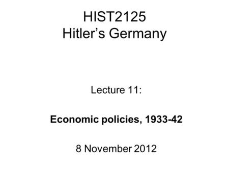 did german people benefit nazi rule 1930 s And the subject found its way into high school texts by the mid-1930's  the coming of nazi rule in  only benefit the german people-nazi government.
