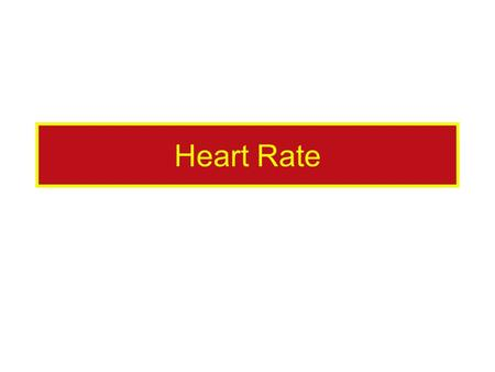 Heart Rate. Some of the 'Heart Rate' Data Take a look at the data so you have some ideas to start with. Get an idea about the type of question you might.