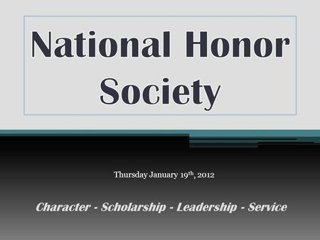 Scholarship leadership service and character essay