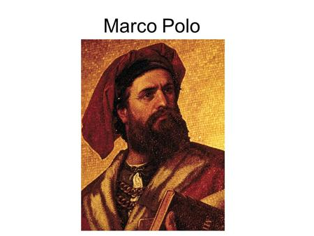 Marco Polo. Trade with China Before 1500, most Europeans, Africans, and Asians did not know that the Americas existed (Vikings)