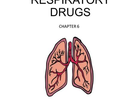 RESPIRATORY DRUGS CHAPTER 6. ANTITUSSIVES -The cough reflex occurs when receptors in the airway send impulses to the brainstem and cause contraction of.