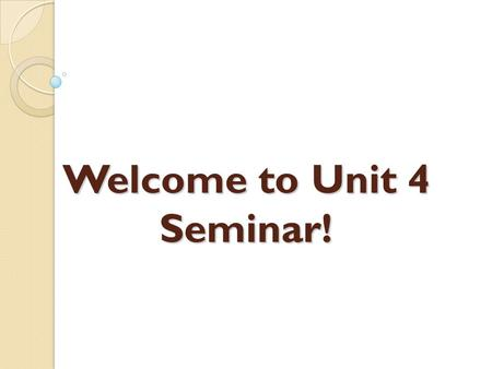 Welcome to Unit 4 Seminar!. Slid e 2 Common Skin Condition Symptoms cutaneous lesions or eruptions pruritis (itching) pain edema (swelling) erythema (redness)