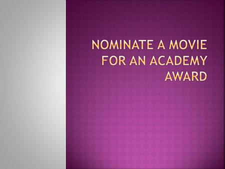  The Oscars, awarded annually by the Academy of Motion Picture Arts and Sciences, showcase the best in movies, honoring films released in the previous.