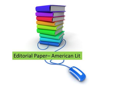 Editorial Paper– American Lit. Haiku— Poly Library.