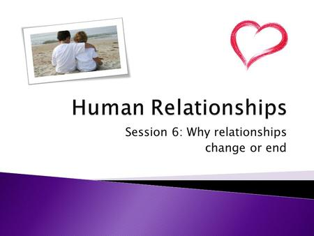 Session 6: Why relationships change or end.  Analyse why relationships may change or end What the command terms mean… Analyse: Analyse: Break down in.