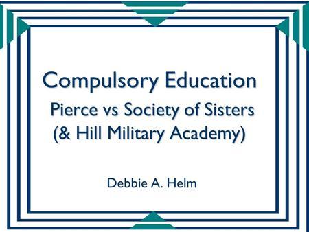 defence compulsory education