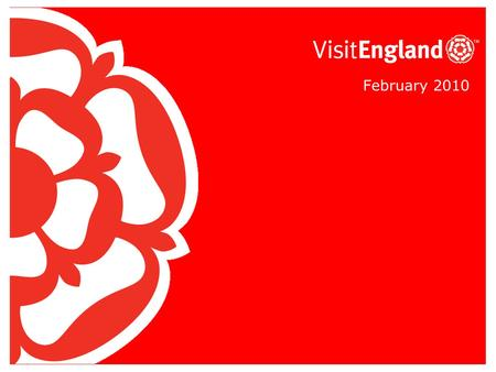 February 2010. Who we are In April 2009 we separated from VisitBritain to become England's new national tourism board 'VisitEngland'. It works under our.