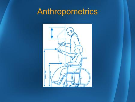 Anthropometrics. Standing Working Heights Sitting Working Heights Reaches Gender Strength Differences Postural Strength Differences.