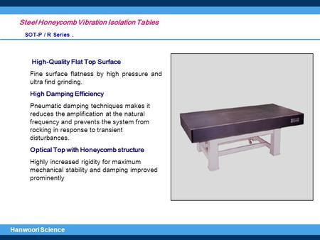 Steel Honeycomb Vibration Isolation Tables
