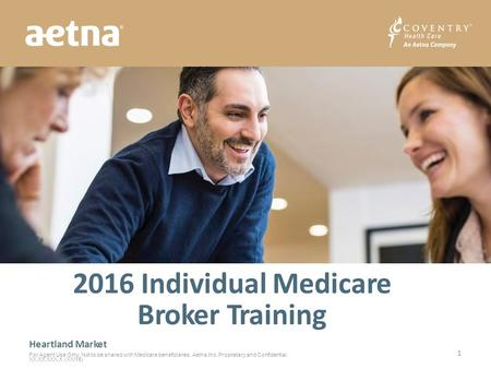 2016 Individual Medicare Broker Training