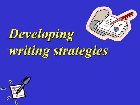 Developing writing strategies. a magazine for the youth This week… INSIDE A university student's typical day What do you What do you do every day? What's.