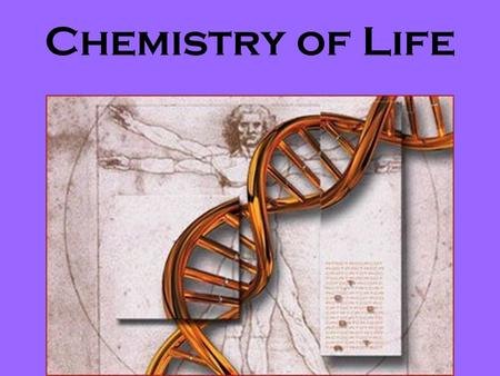 Chemistry of Life. Organic Compound A compound that contains Carbon covalently bonded to other elements.