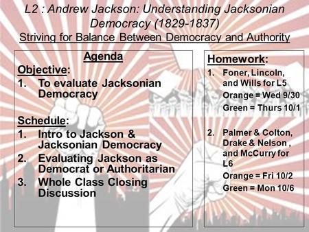 jacksonian democracy essays