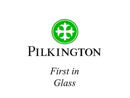 First in Glass. Project Management for Doctoral Students Paul Warren Principal Technologist Pilkington plc 5th November 2003.