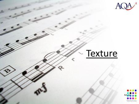 Rhythm harmony texture test
