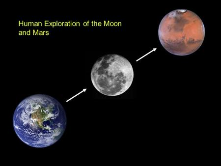 Human Exploration of the Moon and Mars. Launch configuration.