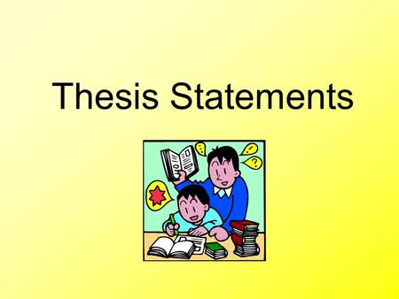 Thesis Statements. What is a Thesis Statement? Summary sentence that supports your opinion & ideas of an ENTIRE essay or paper Explains topic, reasoning,