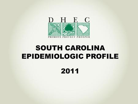 SOUTH CAROLINA EPIDEMIOLOGIC PROFILE 2011. What is the Epi Profile? The HIV/AIDS Epidemiologic Profile is a document that: Describes the HIV/AIDS epidemic.