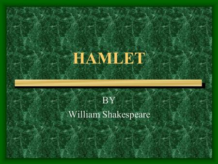 the relationship between hamlet and ophelia in hamlet by william shakespeare Hamlet - the prince of denmark, the title character, and the protagonist about  thirty years old at the start of the play, hamlet is the son of queen gertrude and.