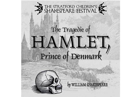 Hamlet, the prince of Denmark is very sad because his father died.