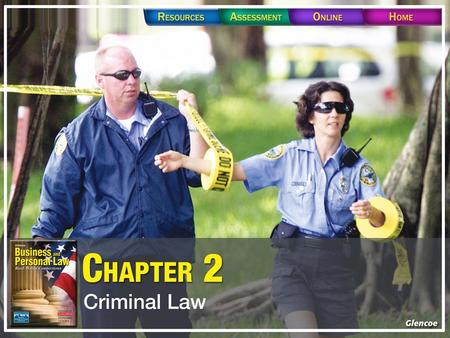 Section 2.1 Crimes and Criminal Justice. Section 2.1 Crimes and Criminal Justice.