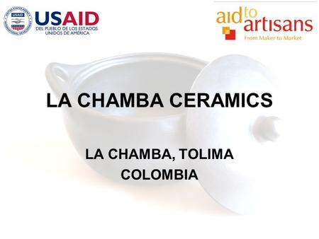LA CHAMBA CERAMICS LA CHAMBA, TOLIMA COLOMBIA. BACKGROUND LA CHAMBA, TOLIMA COLOMBIA.