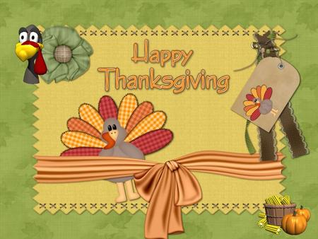Almost in every culture in the world there is a celebration of thanks for rich harvest. The American Thanksgiving began as a feast of thanksgiving almost.