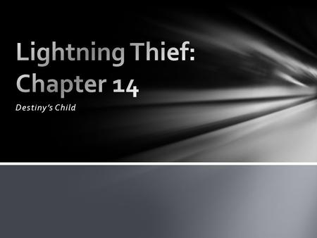 Lightning Thief: Chapter 14