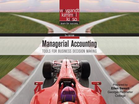 Chapter 8-1. Chapter 8-2 CHAPTER 8 Pricing Managerial Accounting, Fifth Edition.