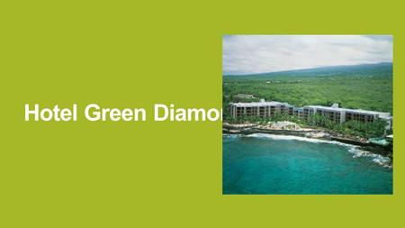 Hotel Green Diamond. The region HAWAII 50th state of USA chain of islands in the pacific tropical climate.