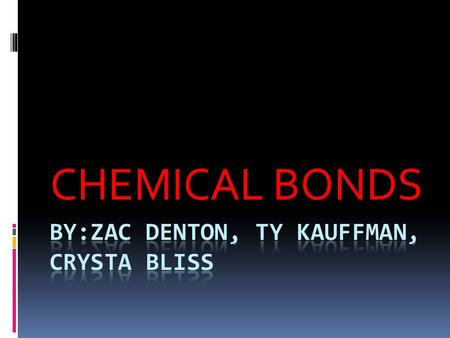 CHEMICAL BONDS. IONIC BONDS  Form when electrons are completely transferred from one atom to another. Atoms are electrically neutral.  Charged particles.