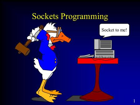 1 Sockets Programming Socket to me!. 2 Network Application Programming Interface (API) The services provided by the operating system that provide the.