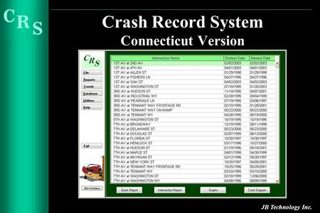 Crash Record System Connecticut Version JB Technology Inc.