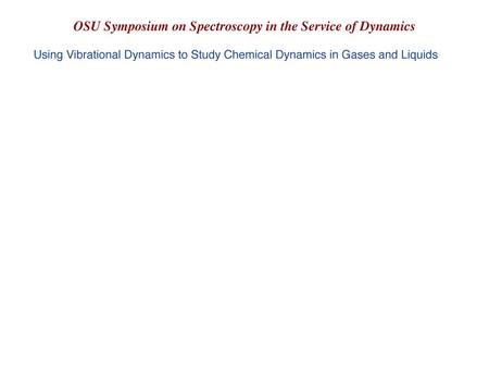 Spec in Service of Dynamics. Chem Bonds and Mol Vibs.