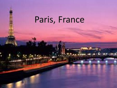 Paris, France. Getting There Delta Air lines, 18 hours 20 minutes total travel time, $2339.20. Departure time: 1:00pm, arrival time: 12:20pm. Stop in.