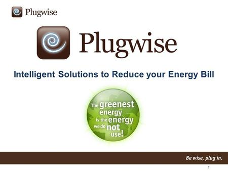 1 Intelligent Solutions to Reduce your Energy Bill.