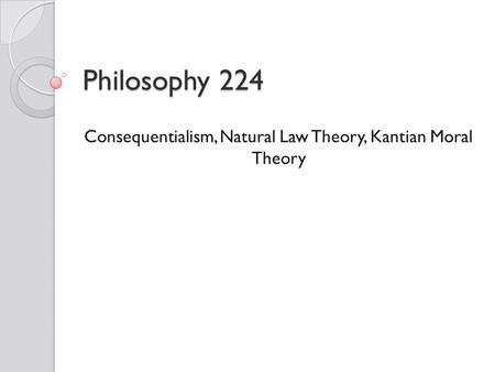 Kantian considerations and sexual morality think