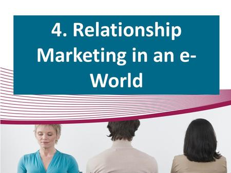 4. Relationship Marketing in an e- World. Spheres of Influence Sphere's Spheres 50.